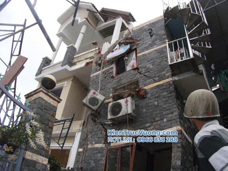 xây nhà không sai kết cấu
