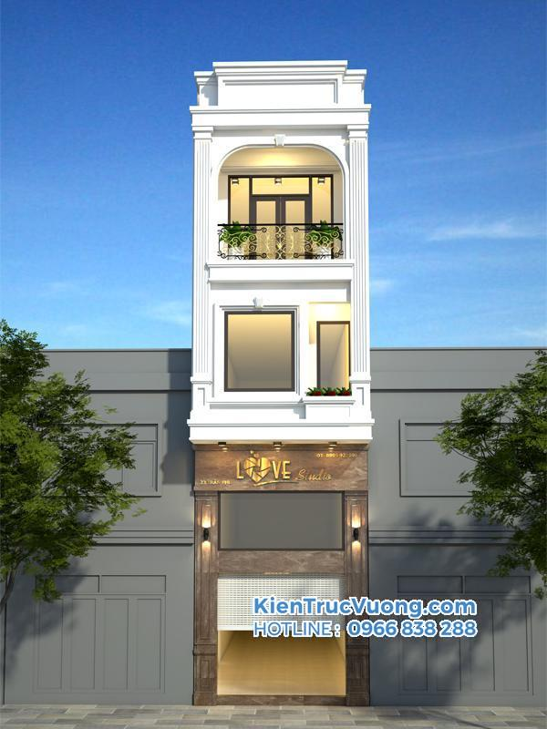 Thiết kế nhà phố Quy Nhơn