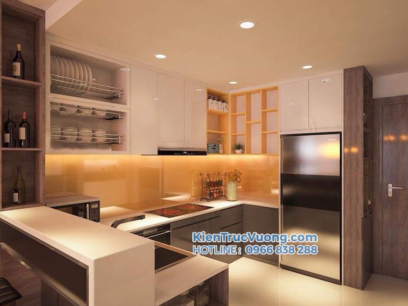 Mẫu thiết kế nội thất chung cư 75m2