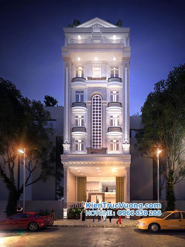Thiết kế khách sạn tân cổ điển Bà Rịa Vũng Tàu