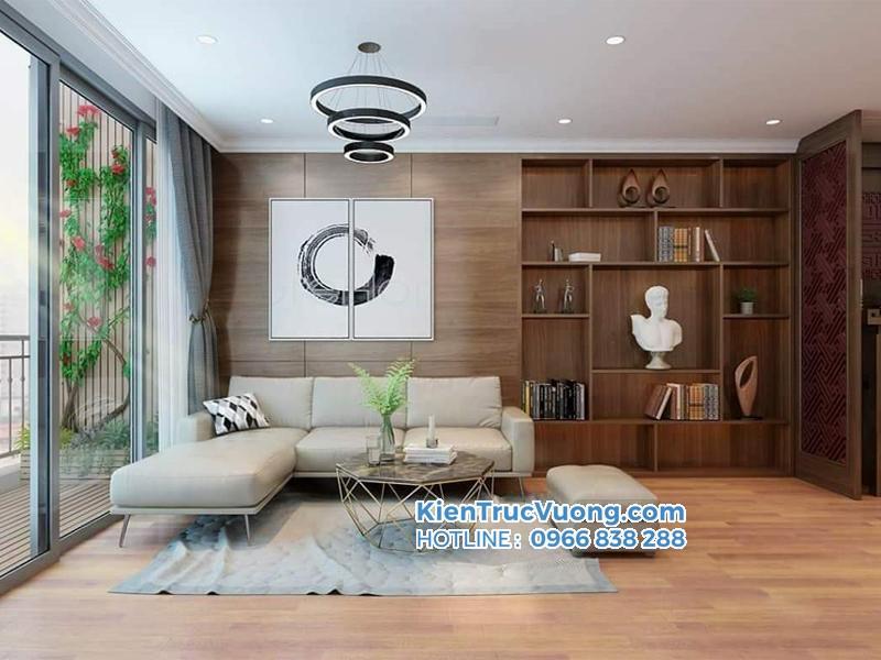 Thiết kế nội thất căn hộ chung cư Sơn Thịnh 3