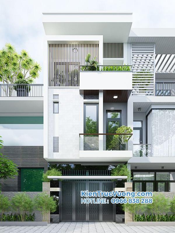 Thiết kế nhà phố không gian mở