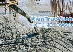 Công tác bê tông - Kinh nghiệm giám sát xây nhà