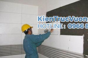 Công tác ốp lát - Kinh nghiệm giám sát xây nhà