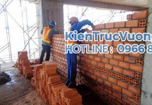 Công tác xây tô - Kinh nghiệm giám sát xây nhà
