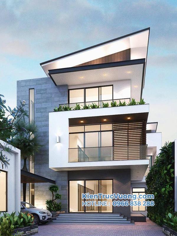 Mẫu thiết kế nhà phố năm 2020